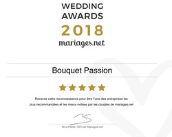Aude de BOISHERBERT - Bouquet Passion - LUNERAY - WEDDING AWARDS 2018