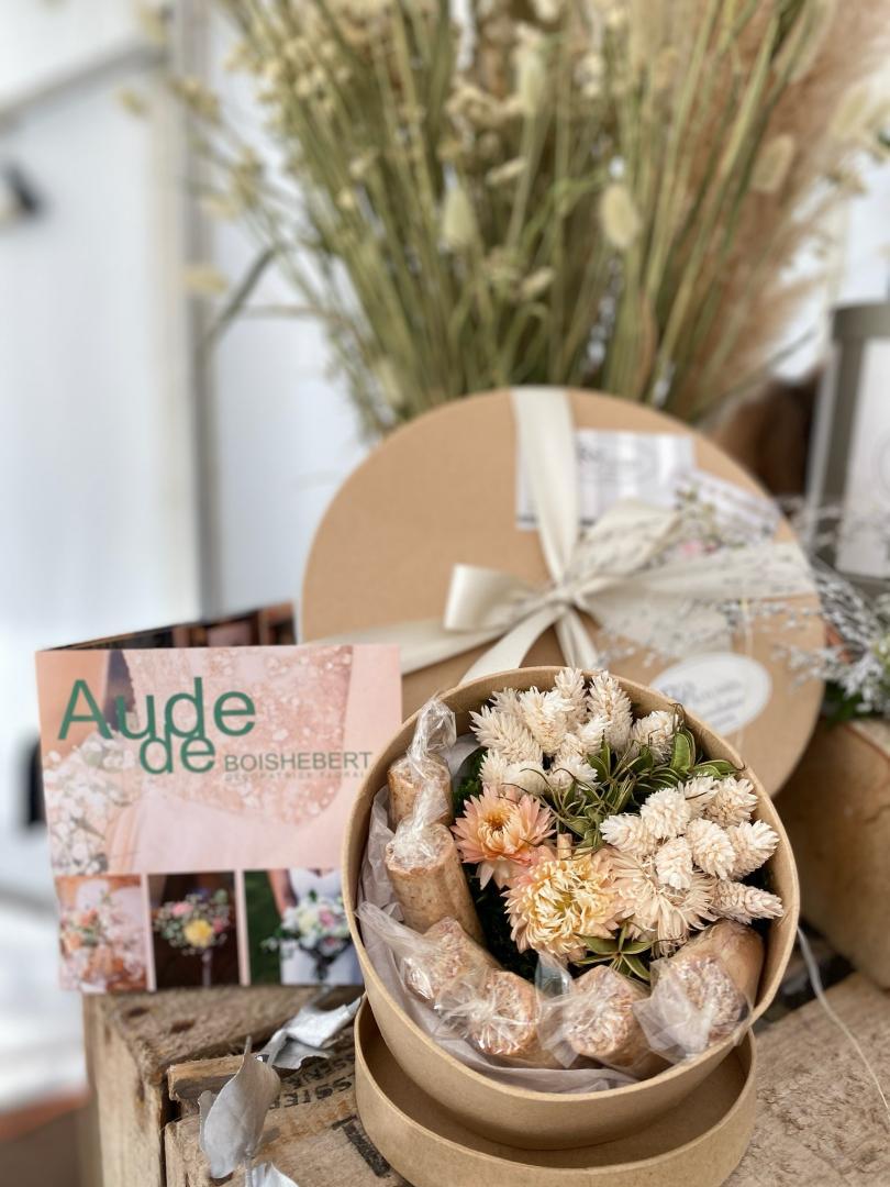 Plaisirs d'offrir ... coffrets « fleurs séchées et chocolats !